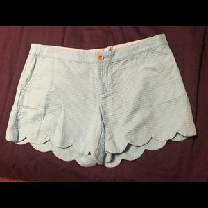 LILLY PULITZER SIZE 14 BUTTERCUP SHORTS
